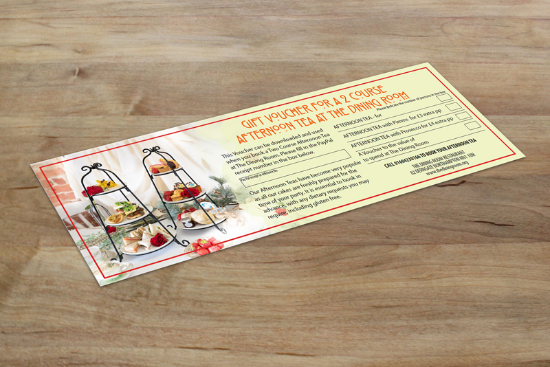 Gift Voucher - Dining Room